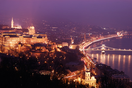 Budapest night photo