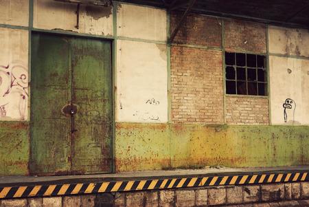 abandoned warehouse: Abandoned warehouse