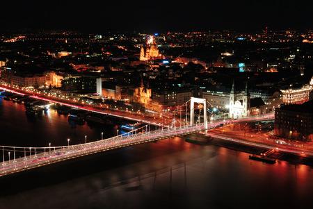 Budapest night photo