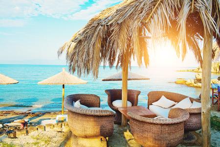 Bar en la playa Foto de archivo - 35271453