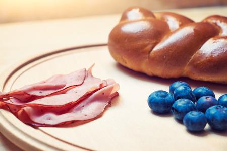 plato del buen comer: Desayuno saludable