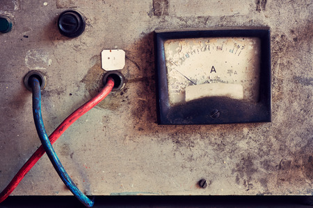 megawatt: Old electric meter