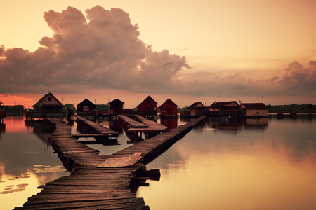 fishing huts: Fishing huts