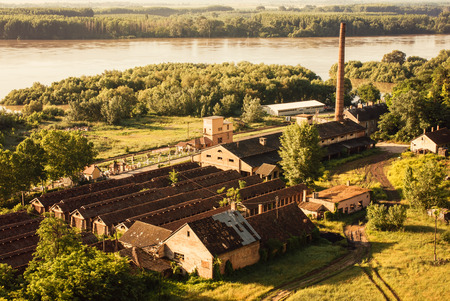Old factory Stock Photo