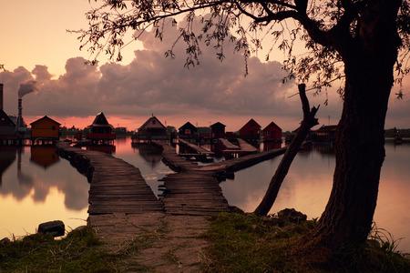 fishing cabin: Fishing huts