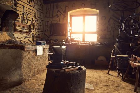 abandoned factory: Old workshop
