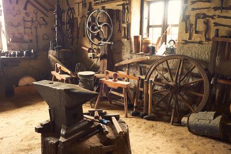 herramientas de carpinteria: Taller viejo