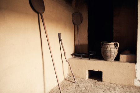 cucina antica: Vecchia cucina Archivio Fotografico