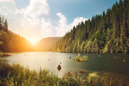 jezior: Górskie jeziora  Zdjęcie Seryjne