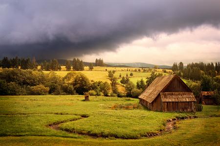 Beautiful countryside photo