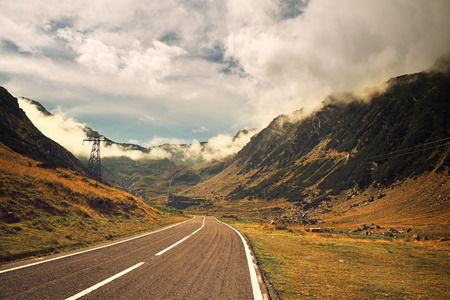 hairpin: Mountain road