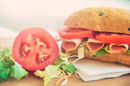 Delecious sandwich photo