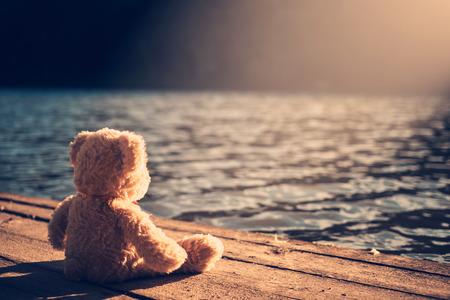 Teddybeer Stockfoto