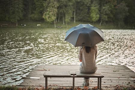 女の子の傘