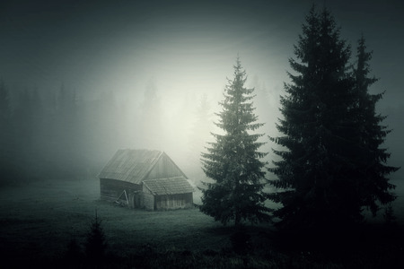 eerie: Haunted house