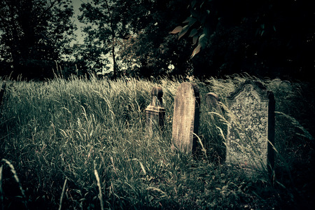Old cemetery photo