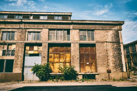 abandoned: Abandoned industry