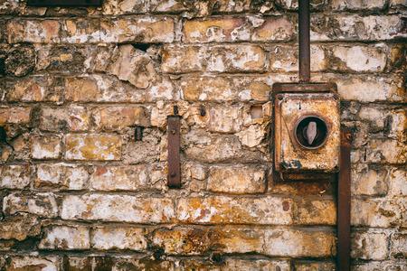 abandoned: Abandoned electric Stock Photo
