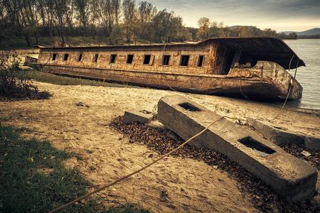 shipwreck: Abandoned Shipwreck