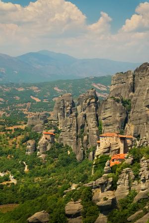 Meteora monastery, Greece Stock Photo