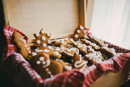 gingerbread cookies: Traditional christmas gingerbread cookies