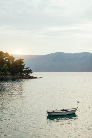 Boat on the sea, Croatia