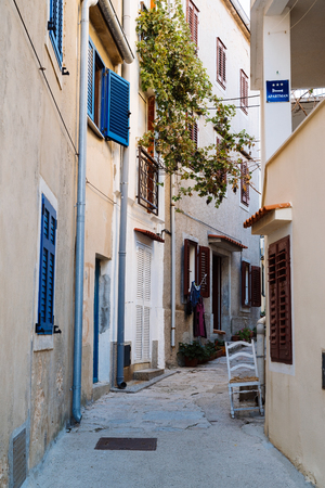 Street of Baska , Krk Island, Croatia