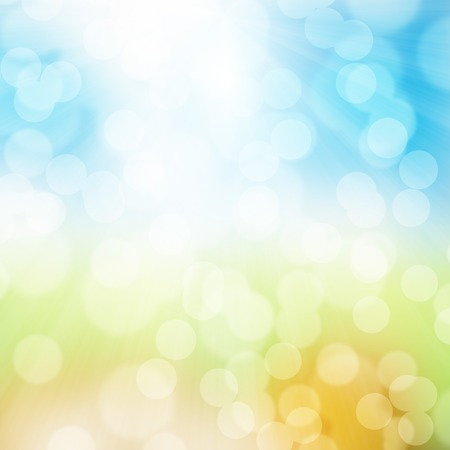 fresh colors: Fresh spring abstract background with blue and green colors