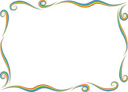 A Vector line border.