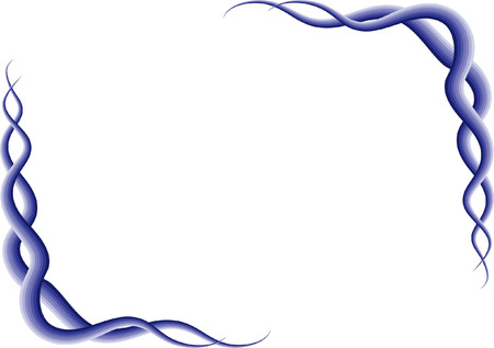Drawing purple line border.
