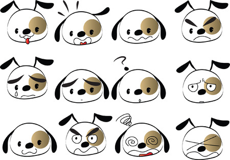 Dog different Expressions package