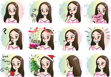Girl Expression package
