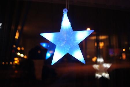 illuminated: Illuminated Blue Star