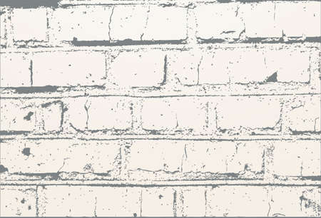 Abstract as a white old brick wall.