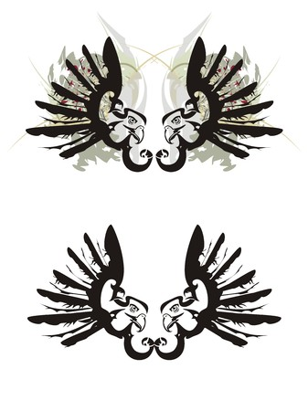 Eagle symbols Illustration