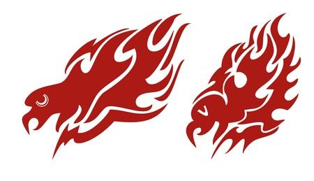 flaming: Flaming eagle