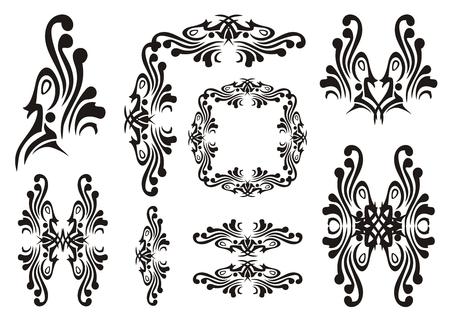 Design bird elements Vector