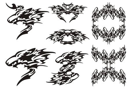 lobo feroz: Símbolos lobo tatuajes y lobos marcos tribales
