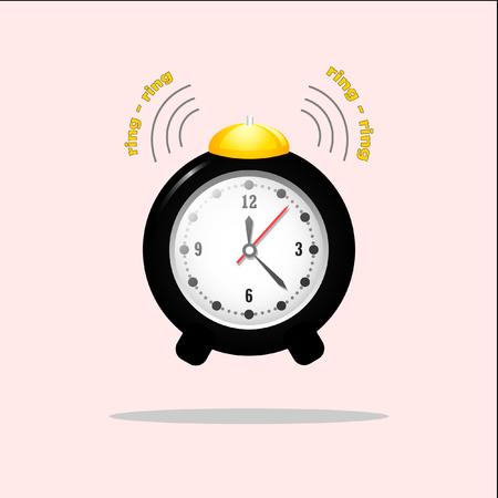 Cute alarm clock that rings