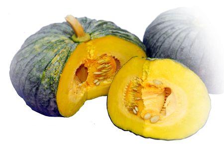 Pumpkin yellow. Stock Photo