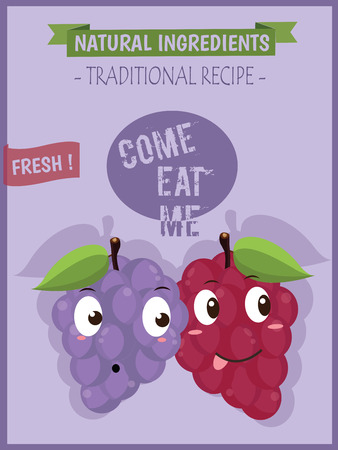 grapes on vine: Grapes vector isolated. Icon.Logo. Grapes wine. Grapes vine. Green Leaf. Grapes icons Illustration