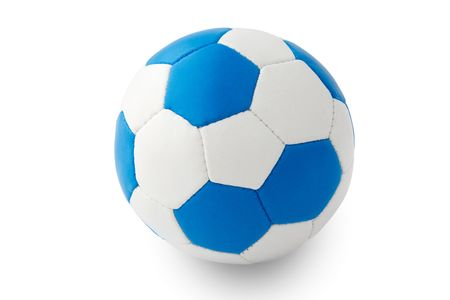 imitation football ball Stock Photo