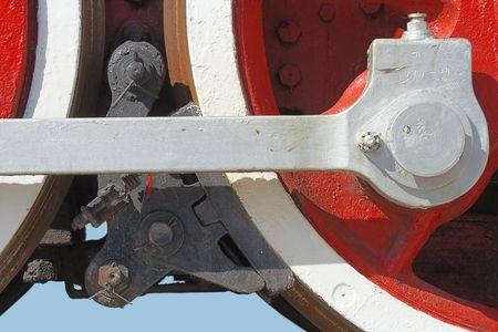 locomotive brake Stock Photo