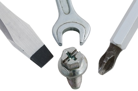 turnscrew: Various types of tools