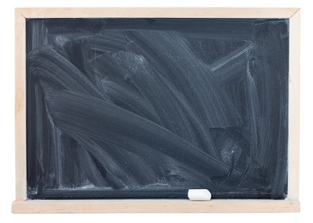 blackboard, is isolated on white