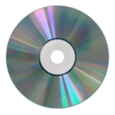 fotografia di un cd rom isolato