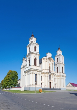 Church  Assumption of the Blessed Virgin Mary in Budslav, Belarus photo