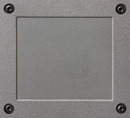 aluminium background: metal texture frame of textured aluminium background