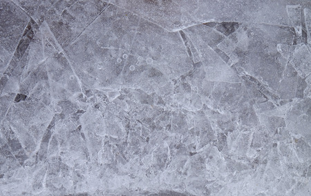 chunks of ice in the lake for a background or wallpaper Stock Photo