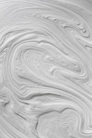 relievo: embossed pattern on the surface of white paint Stock Photo